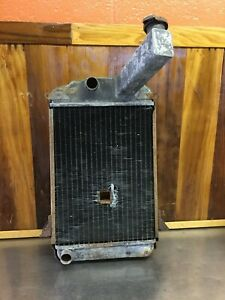 Triumph Tr2 Tr3 Tr4 Radiator With Hole For Engine Crank For Parts T1632