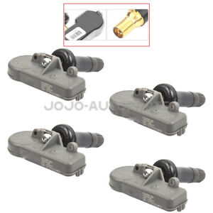 4x Universal Tire Pressure Monitor Sensors Tpms For Chevrolet Gmc Cadillac Buick