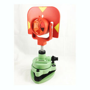 New Single Prism Set System For Total Station Surveying Red Target