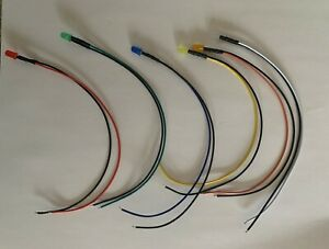 Us Stock 5 Pre wired 12v Dc Led Lights Mix And Match Or Pick Color Free Shipping