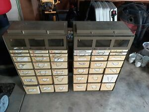 1 Military Medical Instrument Storage Supply Cabinet Chest 22 Drawer