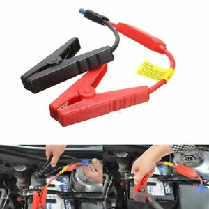 Car Jump Starter Connector Emergency Lead Cable Battery Alligator Clamp Clip 12v