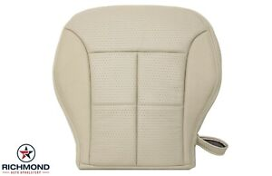 2007 2010 Lincoln Mkx Driver Side Bottom Replacement Leather Seat Cover Tan