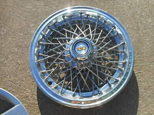 Nos New Nice Chevy Caprice Spoke Wire Hubcap Wheel Cover Hub Cap 1981 1996 15