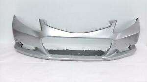 2012 2013 Honda Civic Ex Lx Coupe Front Bumper Cover Silver 71101 Ts8 A000 Oem