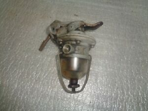 Fordson Power Major Major Diesel Engine Fuel Pump With Glass Bowl