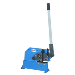 Manual Ironworker Bar And Section Shear Metal Working Machines Pbs 8