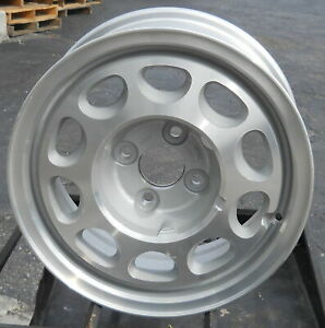 85 93 Mustang Thunderbird Cougar Capri Machined Silver 15x7 10 Hole Wheel 1423
