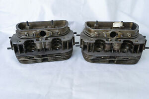 Nos Vw Cylinder Heads 2 Pcs 1200 111101351a 30 Ps 36 Hp Fits Type 1 Type 2