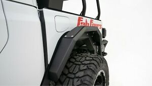 Fab Fours Jt1001 1 In Stock 4 Pc Rear Fender System 20 21 Jeep Gladiator Jt