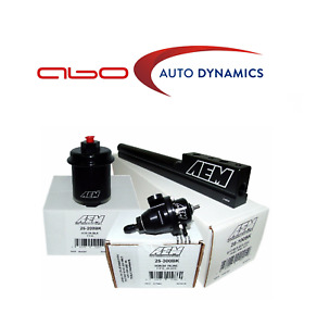 Aem For Honda D16y8 Adj Pressure Regulator High Volume Fuel Rail Filter