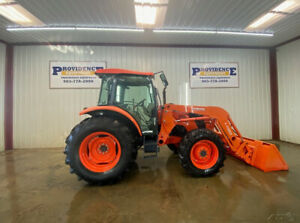 2014 Kubota M9960d Cab 4wd Tractor With A c And Heat