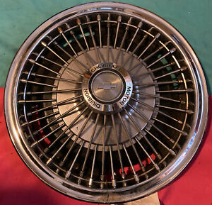 1 Vintage 1967 1968 1969 Chevy Corvair Wire Spinner Hubcap Wheel Cover 13 Cap