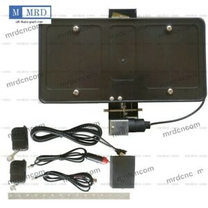 Retractable Electric Powered Front License Plate Frame Shows Hides W Remote