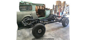 2000 Jeep Wrangler Tj Rolling Chassis 4 Cylinder Frame Differential R 4 10