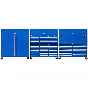 New Premier Toolbox 18 Foot Industrial Storage Cabinet Systems Tool Box