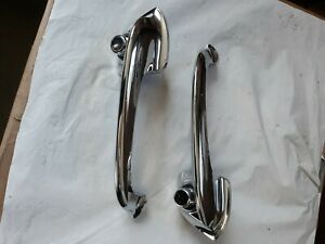 Nos 1950 51 Ford Outside Door Handles Pair