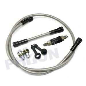 Cnc Aluminum An3 Brake Line Fluid Quick Release Connect Fitting Adapter Hose Kit