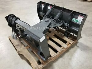 New 60 Mini Skid Steer Snow Plow Blade Attachment Dingo Ditch Witch Vermeer 5