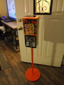 Gumball Machine northwestern Super 60 With Single Pole Stand free Shipping