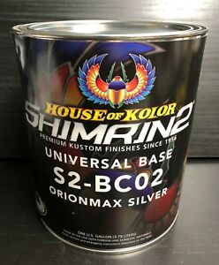 House Of Kolor Bc02 Orionmax Silver Gallon