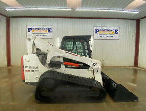 2016 Bobcat T770 Track Skid Steer Cab With A c Heat