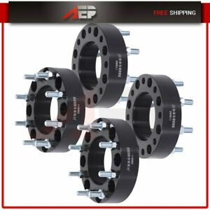 4x 8x180 To 8x180 Wheel Spacers 2 14x1 5 Fits Chevy Silverado 2500 Hd 2011 2016