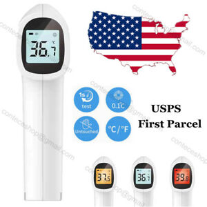Non Contact Thermometer Infrared Medical Level Lcd Gun Meter Temperature Usaship
