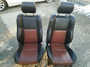2005 2006 Oem Nissan Altima Se R Front Rear Leather Seats Driver Passenger Red