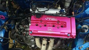 Fully Built Acura Gsr B18c Engine W lht Intercooled Jackson Racing Supercharger