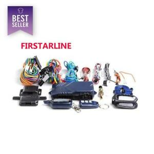Firstarline Only For Russian Twage Starline B9 2 Way Car Alarm System Engine