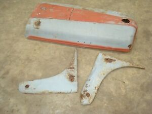 1945 Ford 2n Tractor Hood Side Panels 9n