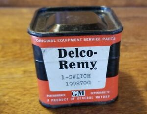 Nos Delco Remy Gm 1959 64 Windshield Wiper Switch 1998700 Corvette Buick Olds