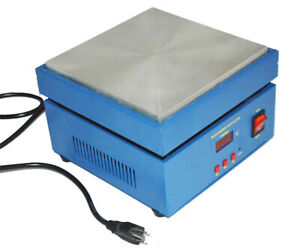 Electronic Hot Plate Preheat Preheating Station Aluminium Alloy Heating Plate