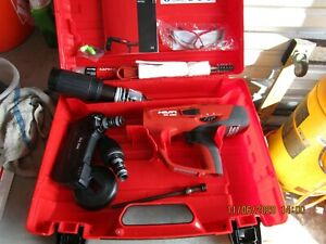 Hilti Dx 460 Powder Actuated Tool Kit With Mx 72 X 460 f8 Brand New 962
