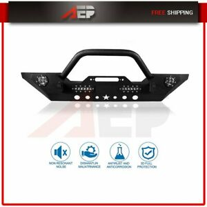 Protector Guard For Jeep Wrangler Jk 2007 2018 Front Bumper Assembly Truck