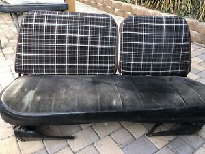 International Harvester Scout Ii Front Bench Seat With Seat Base And Slider