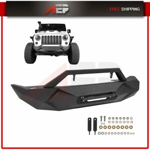 Steel Assembly Front Bumper For Jeep Wrangler Jk 2007 2018 Bumper Guard