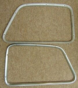 1947 1950 Chevrolet Pickup Truck Panel Stainless Door Garnish Trim Moldings