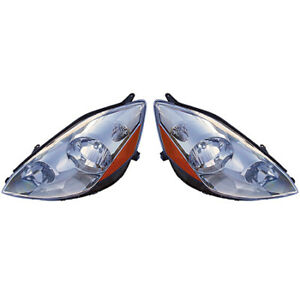 Fits 2006 2010 Toyota Sienna Headlight Pair Side