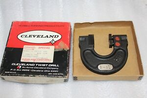 Cleveland Twist Drill Snap Gage Md c Style 108 1 230 1 240