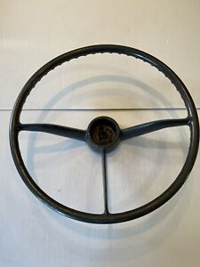 Nos Steering Wheel Grey 1957 1958 1959 Chevrolet Chevy Gmc Truck Rare Oem Gm