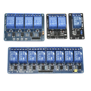 5v Optocoupler For Arduino Pic Arm Avr 1 2 4 6 8 Channel Relay Board Module Led