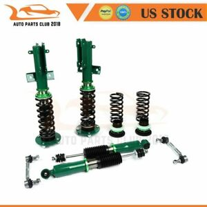 Coilovers Struts For Ford Mustang 2005 2014 Adj Height Suspension Spring Kits
