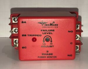 Time Mark 3 Phase Power Monitor