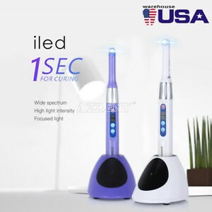 Usa Dental Iled Cordless Curing Light 1 Second Fast Cure Lamp 2300mw c Cv gun