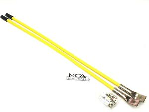 Meyer Snow Plow Guide Markers Yellow 26 Bent Ends 09916