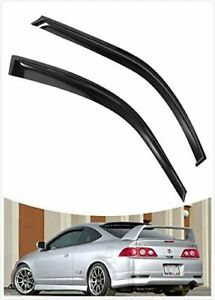 Window Visor Rain Wind Deflector Guard Vent Tinted For 2002 2006 Acura Rsx Coupe