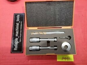 Mitutoyo Intrimik Bore Holtest Inside Micrometer 5 To 8 In W 1 Ring P491