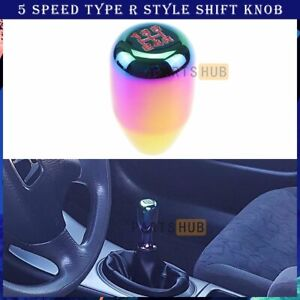 M10 X 1 25 Neo Chrome Type R Manual 5 Speed Aluminum Gear Shift Knob For Nissan